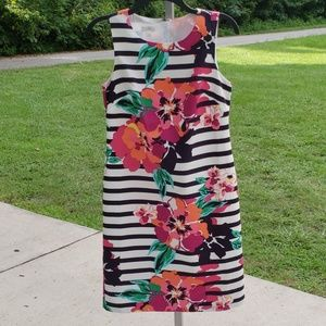 Talbots Sleeveless Shift Dress